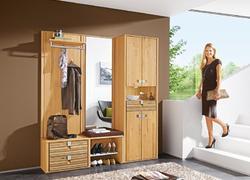 Einblick in unser Garderoben-Angebot